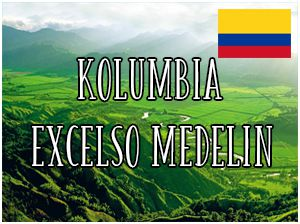 Kolumbia Excelso Medelin / 1000g